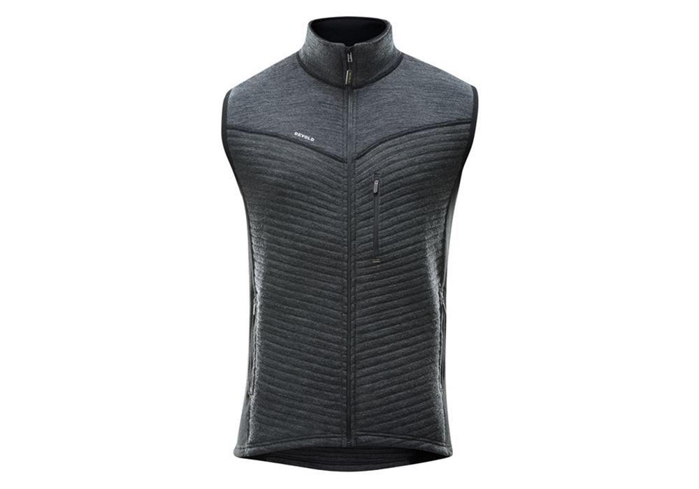 Devold Tinden Spacer Man Wool Vest Anthracite 2022