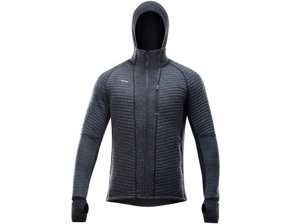 Вълнено яке Devold Tinden Spacer Man Jacket w/hood Anthracite 2022