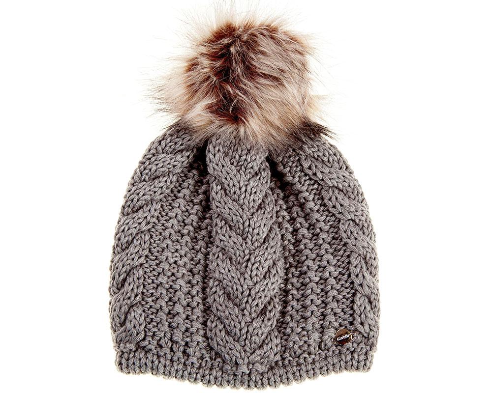 Дамска зимна шапка от мериносова вълна Eisbär Rafaela Lux MÜ