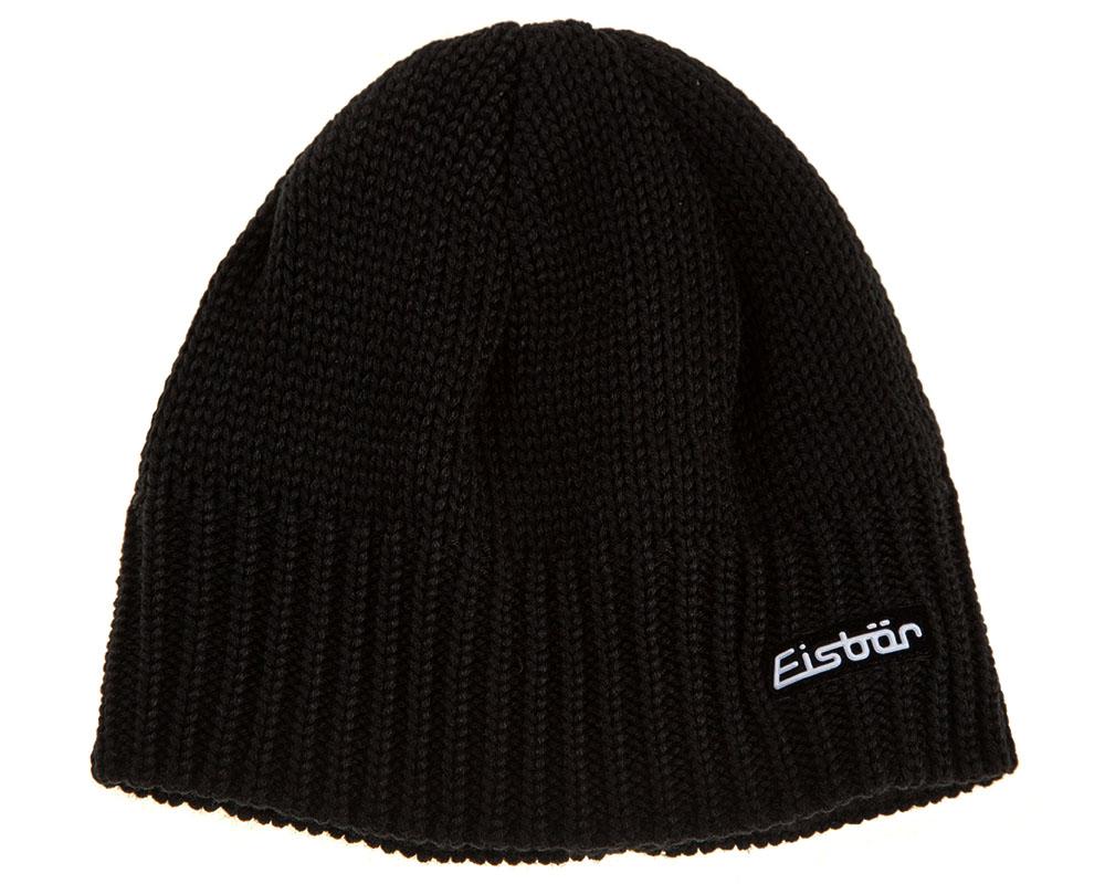 Зимна шапка от мерино вълна Eisbär Trop MÜ XL Black