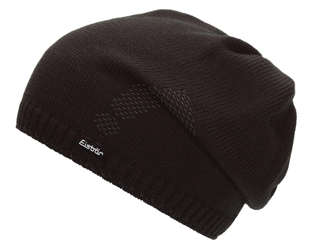 Зимна вълнена шапка Eisbär Reflect OS MU Black