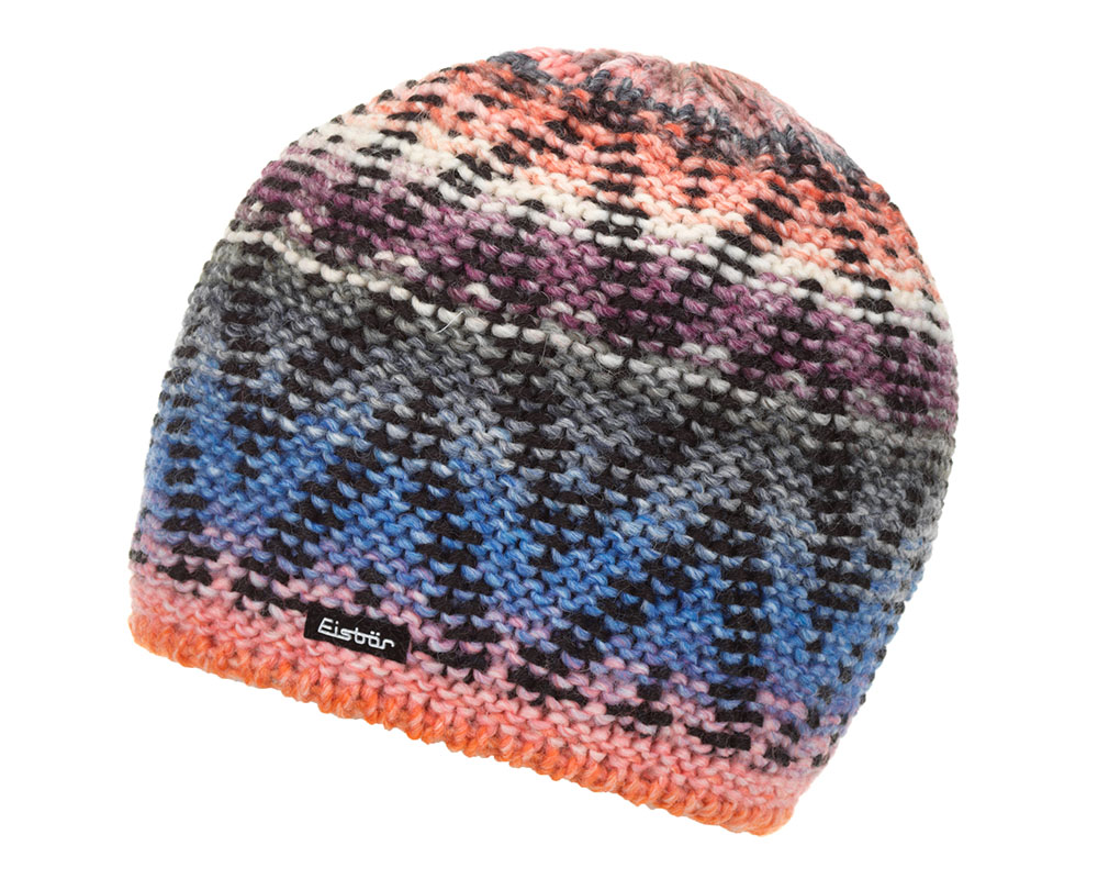 Зимна вълнена шарена шапка Eisbär Baleza MÜ Color