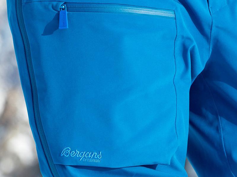 Дамски хардшел панталон за ски Bergans Gautefall Lady джоб