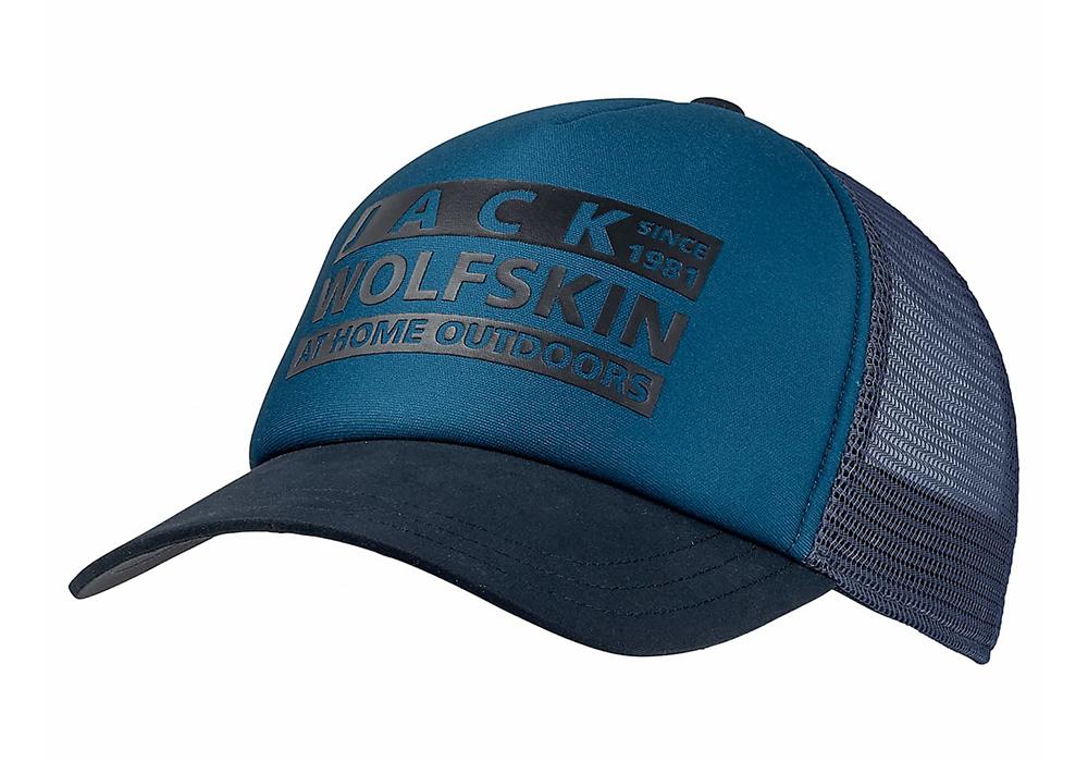 Шапка с козирка Jack Wolfskin Brand Mesh Cap Dark Cobalt 2021
