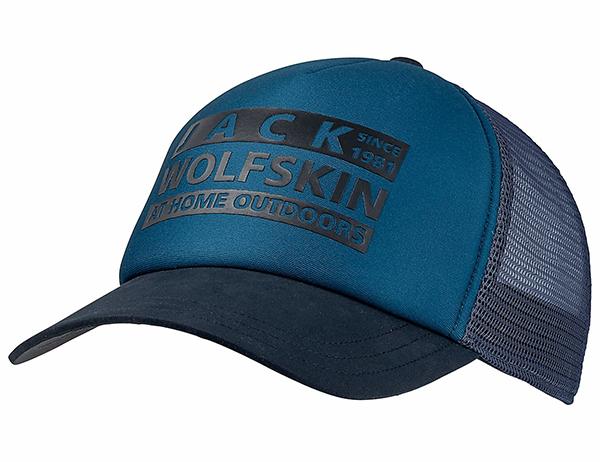 Jack Wolfskin Brand Mesh Cap Dark Cobalt 2021