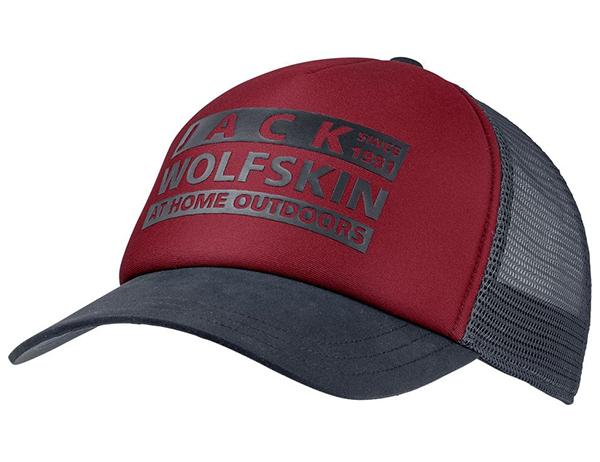 Jack Wolfskin Brand Mesh Cap Dark Lacquer Red 2021
