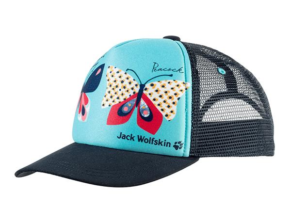 Jack Wolfskin Animal Mesh Cap Kids Blue Capri 2021