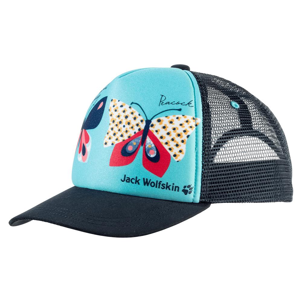 Детска шапка с козирка Jack Wolfskin Animal Mesh Cap Kids Blue Capri 2021