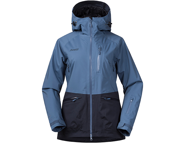 Дамско ски яке с изолация Bergans Myrkdalen Insulated Lady Fogblue Dark Navy 2019