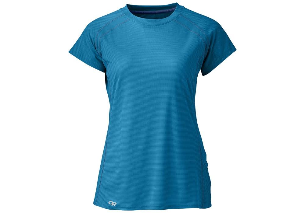 Дамска спортно-туристическа тениска Outdoor Research Echo Tee Оasis Baltic