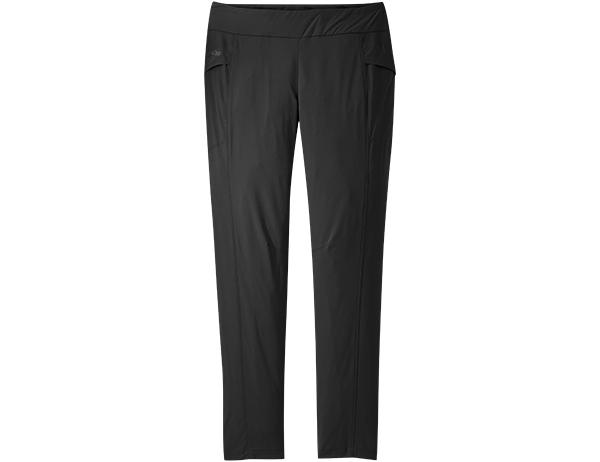 Дамски туристически софтшел панталон Outdoor Research Equinox Black 2021