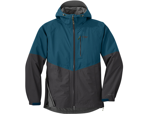 Мъжко хардшел яке Outdoor Research Foray Jacket Peacock Storm 2019