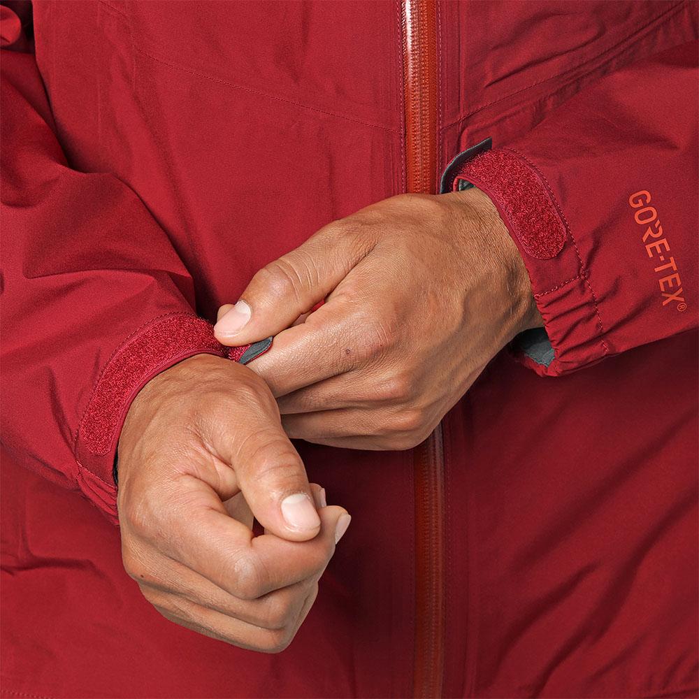 Еластични маншети при ръкавите мъжко хардшел яке Outdoor Research Foray Jacket