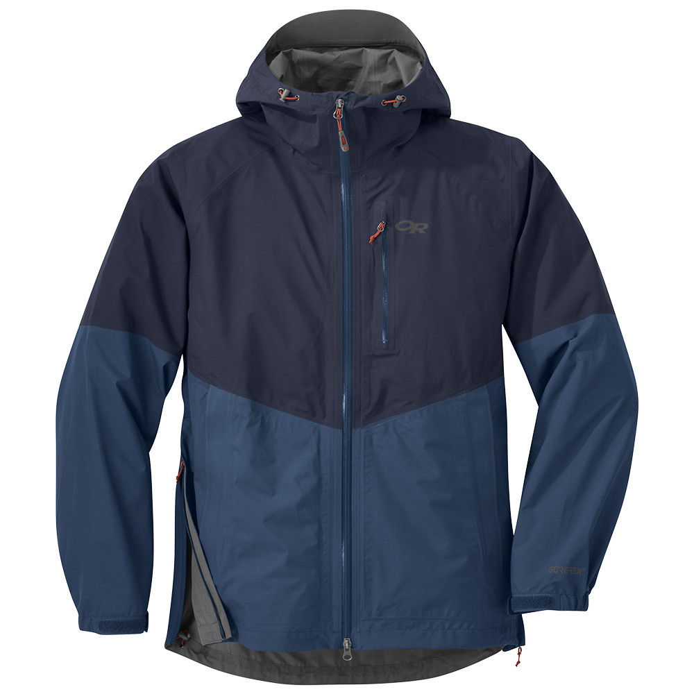Мъжко хардшел яке Outdoor Research Foray Jacket Naval Blue Dusk 2019