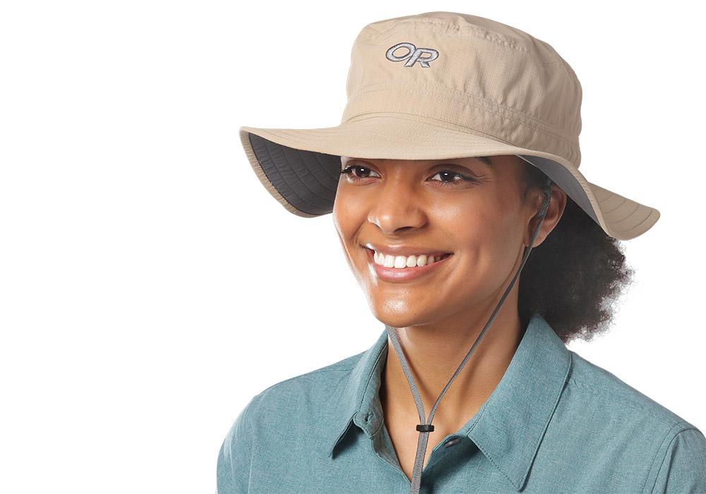 Туристическа шапка с периферия Outdoor Research Helios Sun Hat