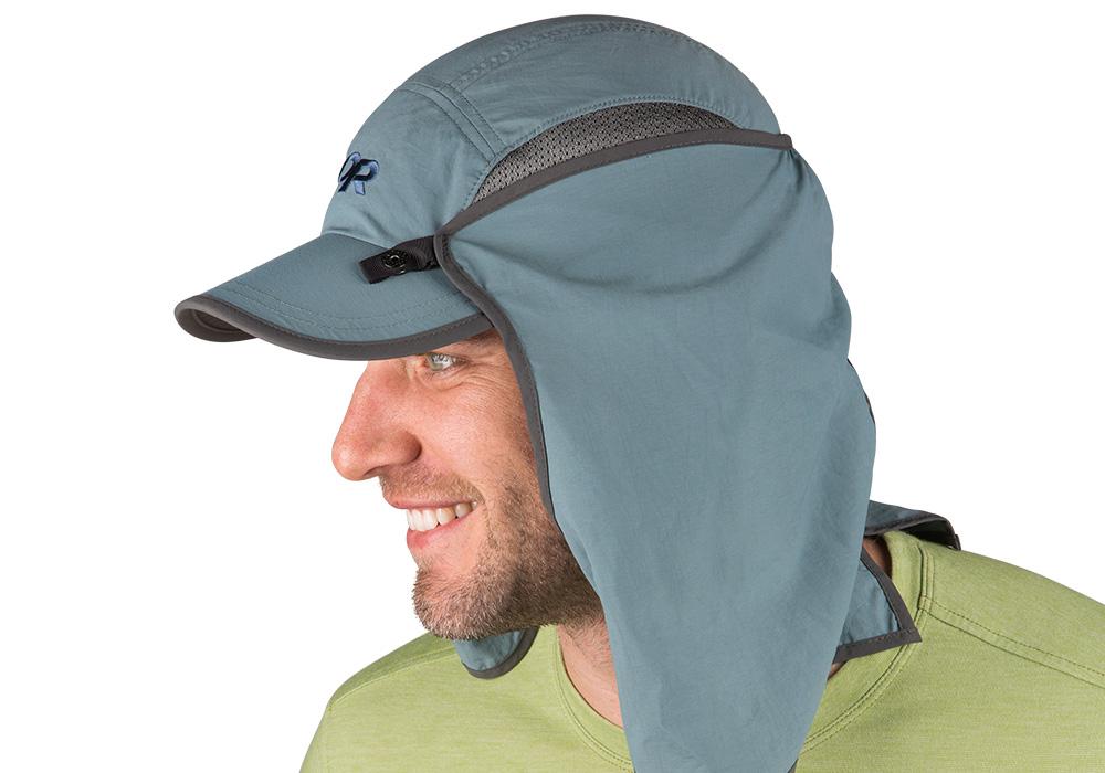 Туристическа шапка с пустинен шал Outdoor Research Sun Runner Cap