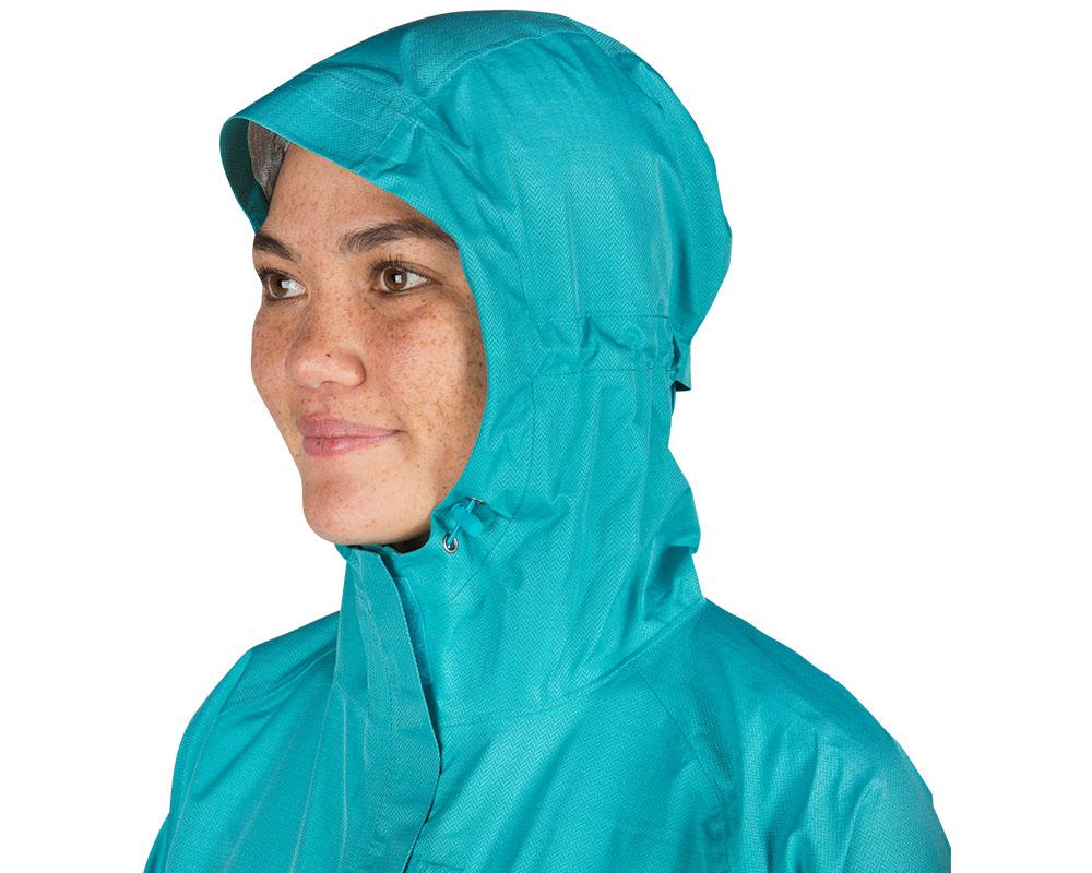 Регулираща се качулка дамско хардшел яке Outdoor Research Panorama Point Jacket Typhoon