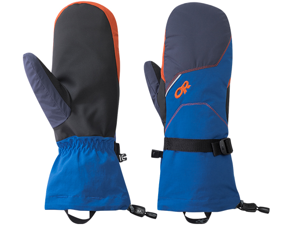 Ръкавици лапи за ски Outdoor Research Adrenaline Mitts Cobalt Burnt Orange 2019