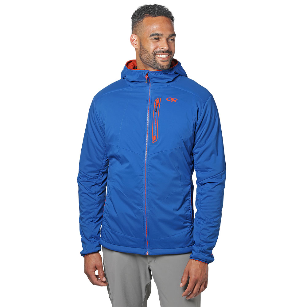 Лице на софтшел яке Outdoor Research Ascendant Hoody Cobalt