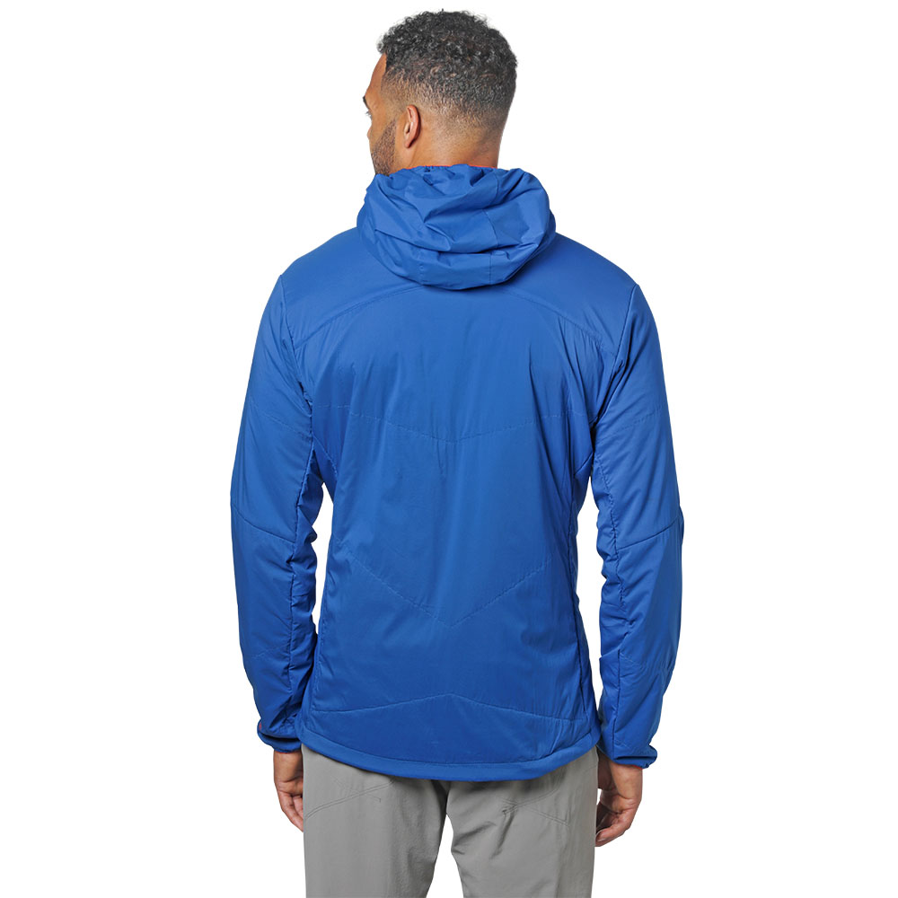 Гръб на софтшел яке Outdoor Research Ascendant Hoody Cobalt