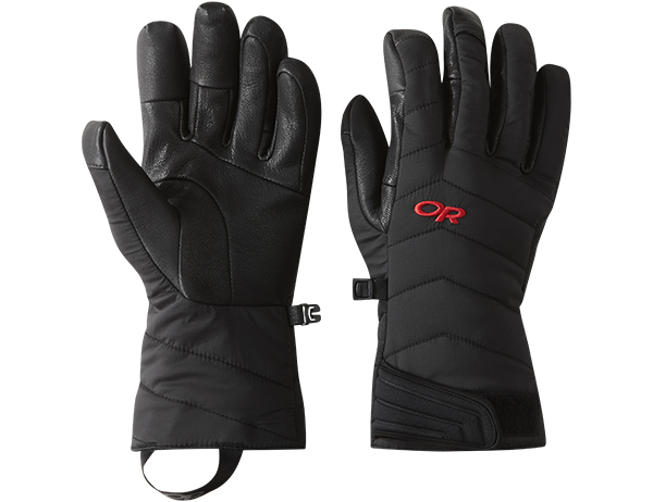 Ръкавици за ски и алпинизъм Outdoor Research Ascendant Sensor Gloves Black Tomato