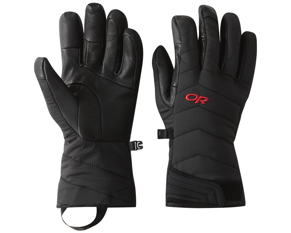 Зимни ръкавици за ски и алпинизъм Outdoor Research Ascendant Sensor Gloves Black