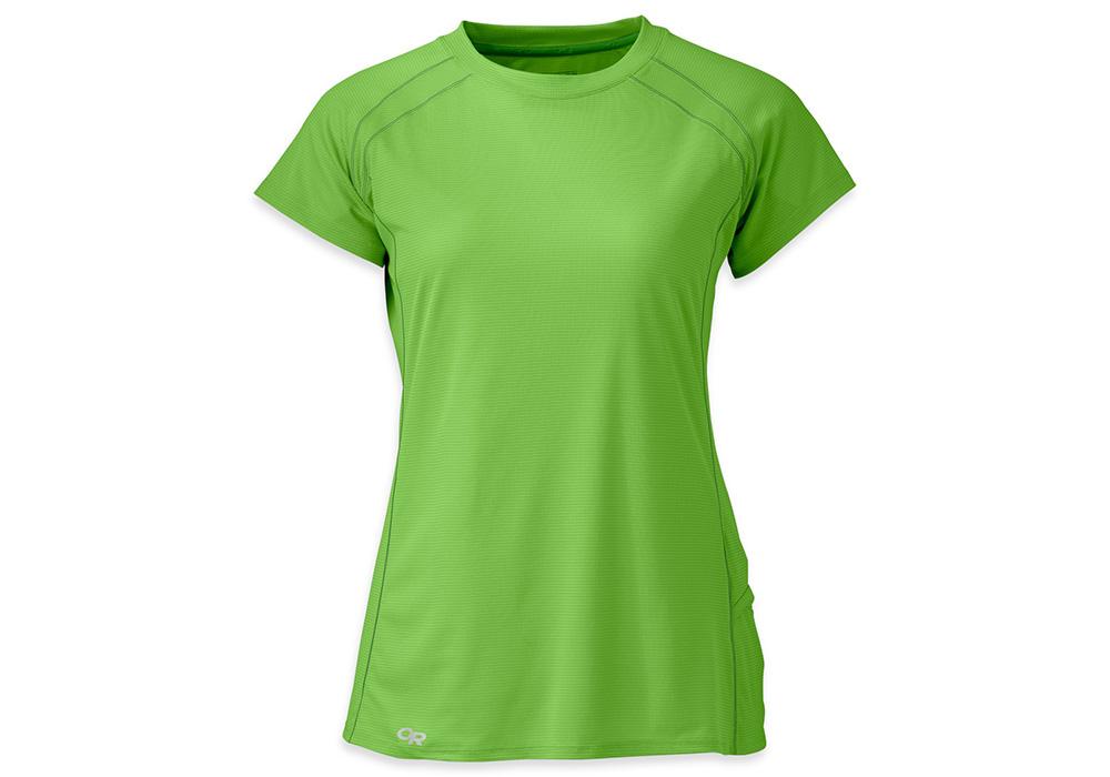 Дамска спортно-туристическа тениска Outdoor Research Echo Tee Apple Laurel