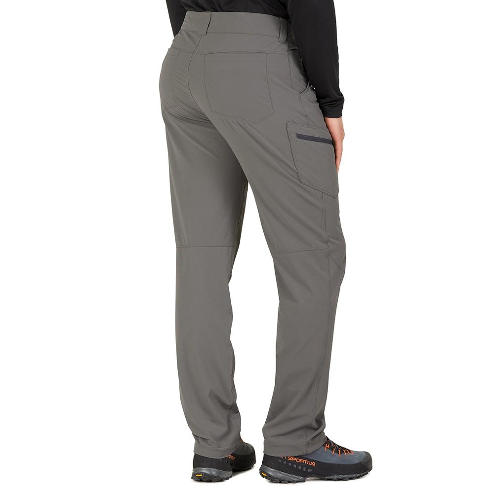 Гръб на мъжки софтшел панталон Outdoor Research Ferrosi Pants Pewter 2019