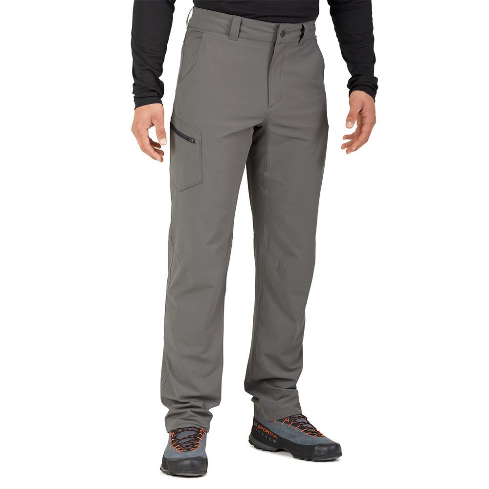 Лице на мъжки софтшел панталон Outdoor Research Ferrosi Pants Pewter 2019