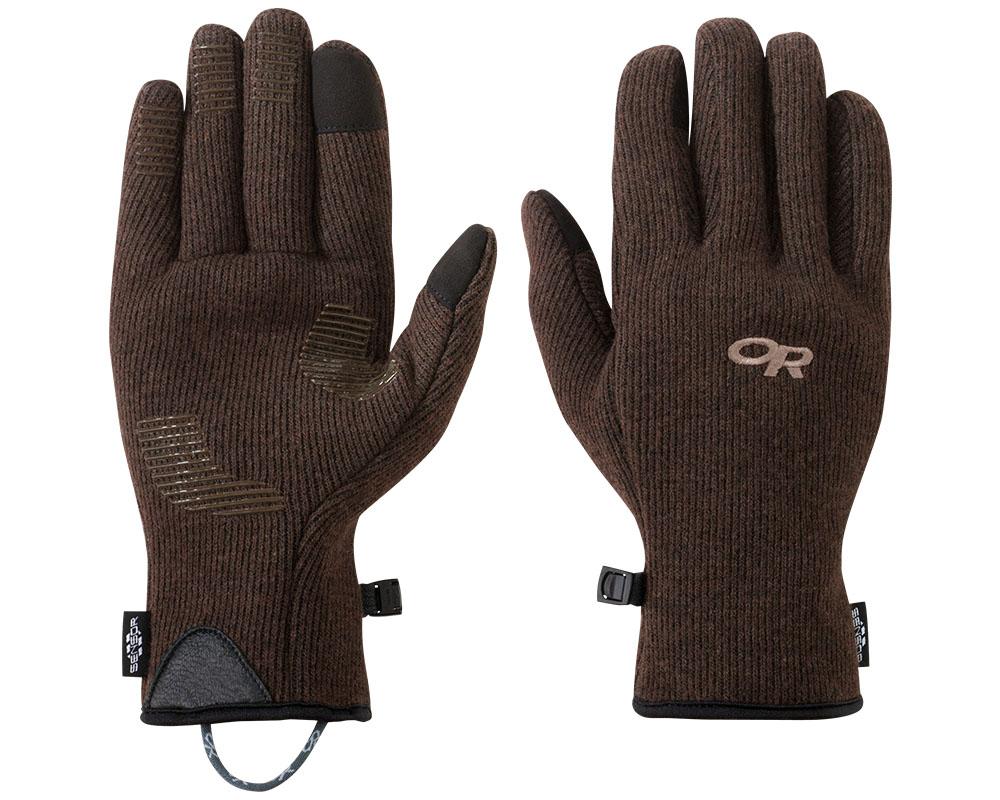Мъжки ръкавици за туризъм и ежедневие Outdoor Research Flurry Sensor Gloves Earth