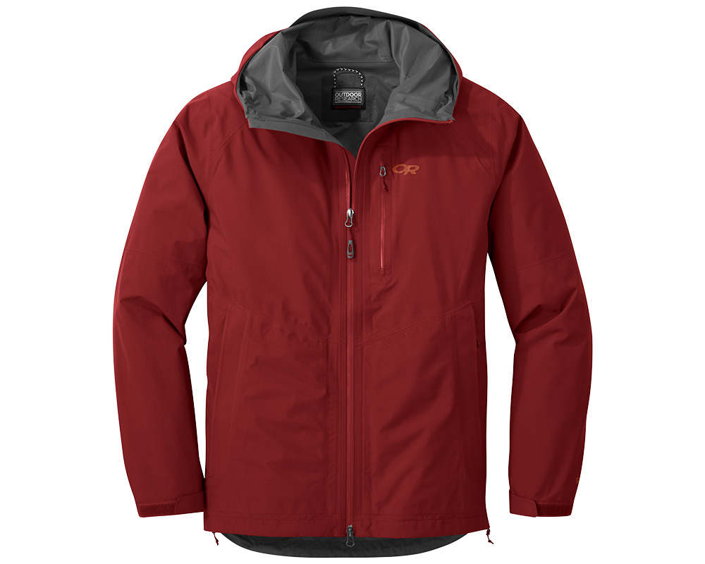 Мъжко хардшел яке Outdoor Research Foray Jacket Firebrick 2019