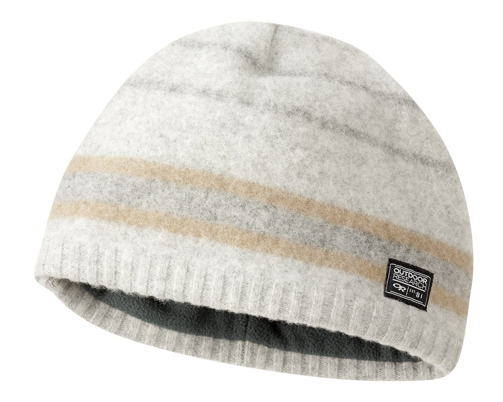 Вълнена шапка Outdoor Research Route Beanie Pewter