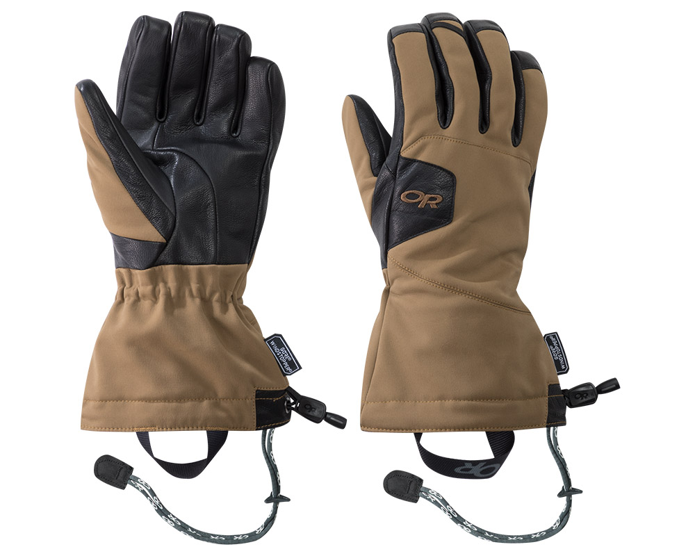 Ръкавици за ски и алпинизъм Outdoor Research Luminary Sensor Gloves Coyote