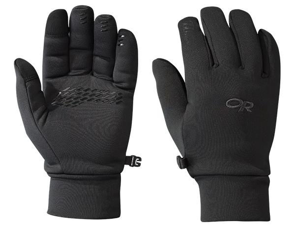 Дамски ръкавици за туризъм и ежедневие Outdoor Research PL 400 Sensor Gloves Black 2019
