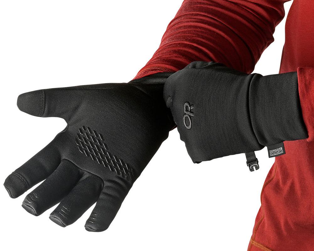 Обличане на ръкавици за туризъм и ежедневие Outdoor Research PL 400 Sensor Gloves 2019