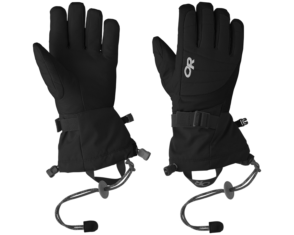 Дамски ръкавици за ски Outdoor Research Revolution Gloves Black 2019