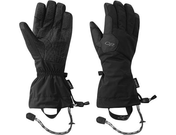 Ръкавици за ски и алпинизъм Outdoor Research Vitaly Gloves Black