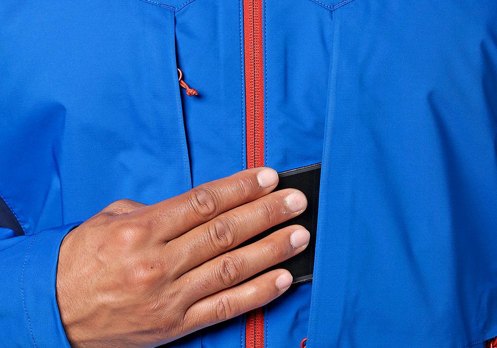 Страничен джоб на софтшел яке Outdoor Research San Juan