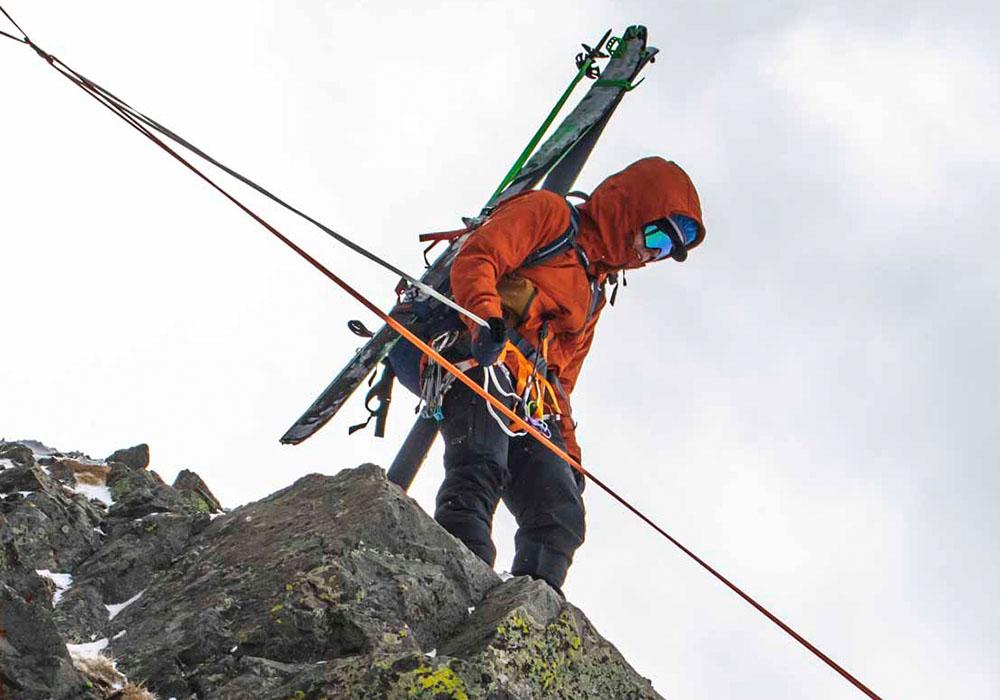 Алпинизъм със софтшел яке Outdoor Research San Juan