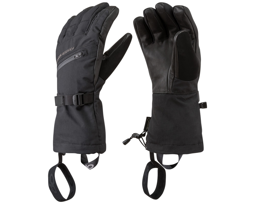 Зимни ръкавици с GoreTex за ски Outdoor Research Southback Sensor Glove Black 2019