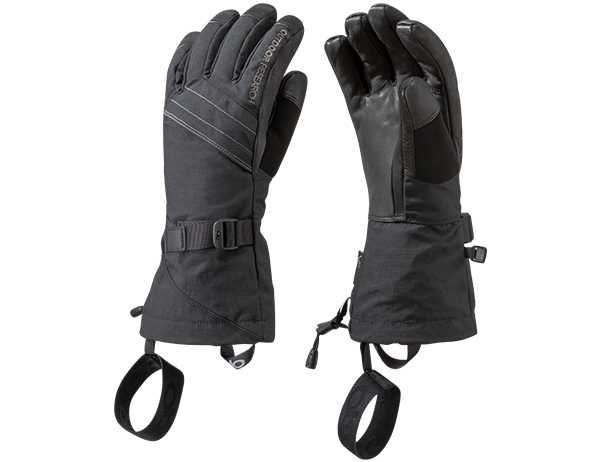 Дамски ръкавици за ски Outdoor Research Southback Sensor Glove Black 2019