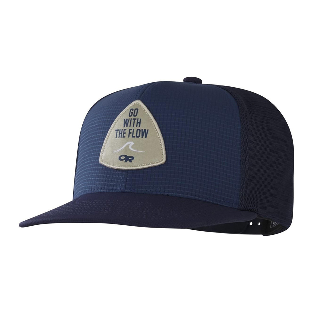 Шапка с козирка Outdoor Research Performance Trucker Go with the Flow Naval Blue 2020