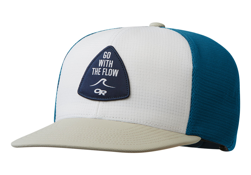 Шапка с козирка Outdoor Research Performance Trucker Go with the Flow Peacock