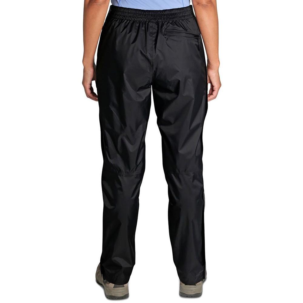 Гръб на дамски хардшел панталон Outdoor Research Apollo Rain Pants Black
