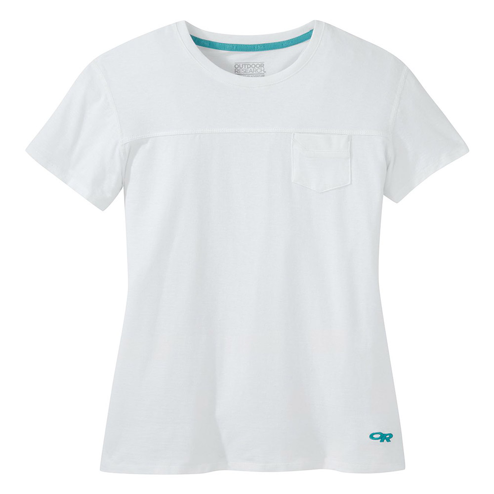 Дамска тениска Outdoor Research Axis Tee White 2020