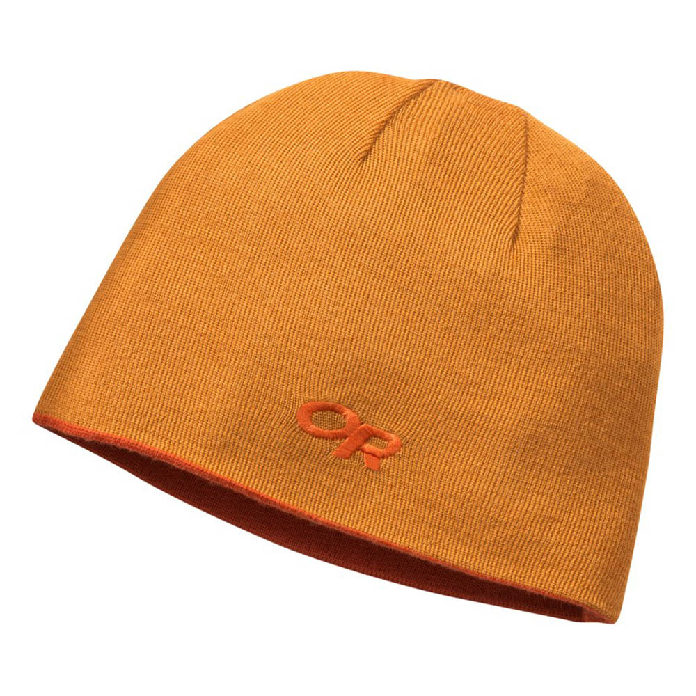 Отвътре двулицева шапка Outdoor Research Booster Beanie Burnt Orange / Pumpkin 2020