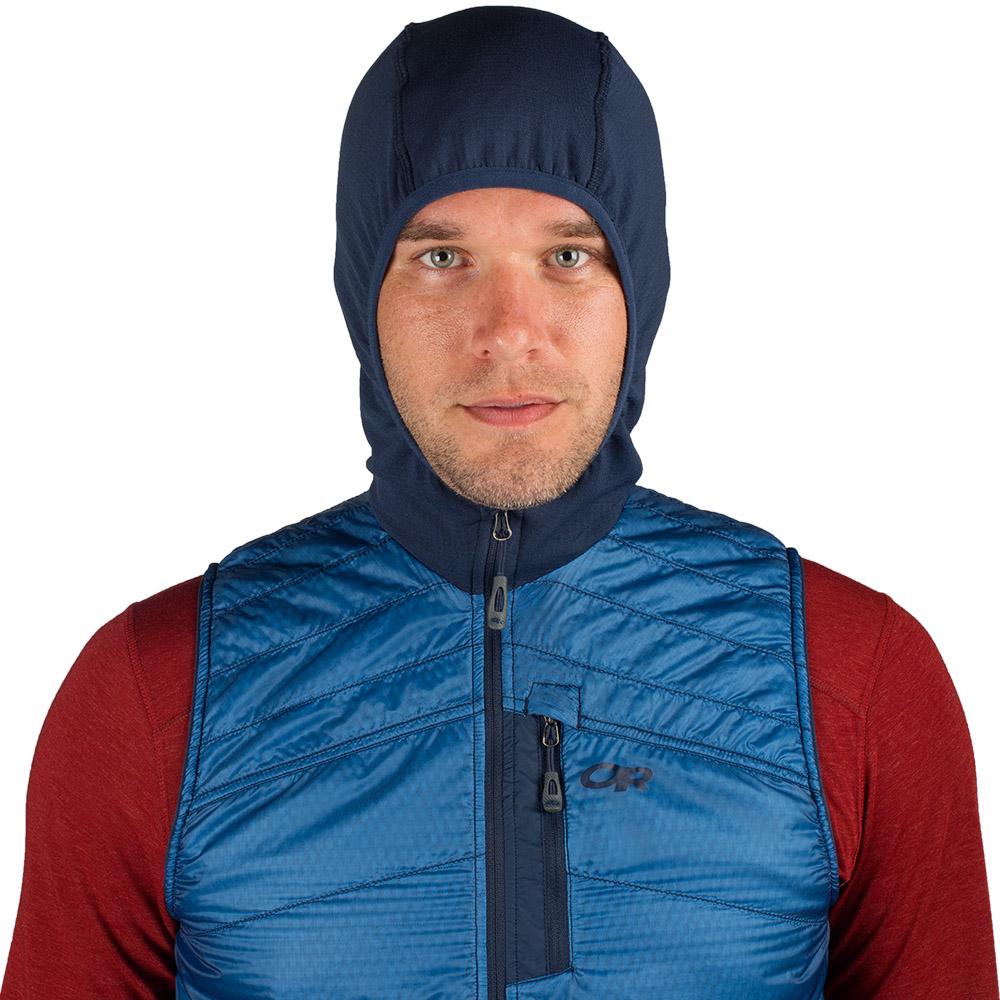Качулка на мъжки поларен елек с качулка Outdoor Research Deviator Hooded Vest