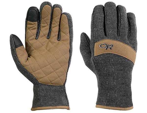 Ръкавици за туризъм и ежедневие Outdoor Research Exit Sensor Gloves Charcoal