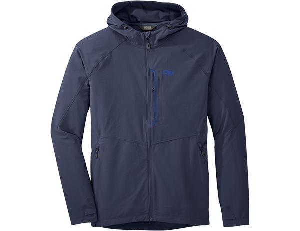 Мъжко софтшел яке Outdoor Research Ferrosi Hooded Jacket Naval Blue 2020
