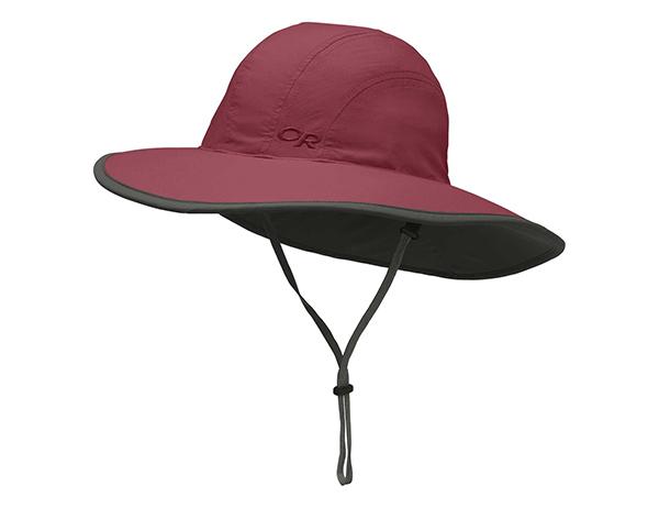 Детска шапка с периферия Outdoor Research Kids Rambler Sun Sombrero Clay 2020